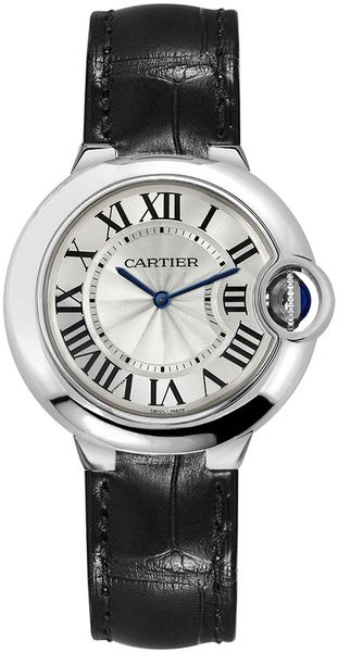 Cartier Ballon Bleu 33mm Quartz Women's Watch WSBB0034