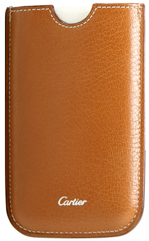 Rare New Cartier Leather iPhone 4 Case L3001109