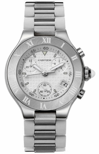 Cartier Must 21 Chronograph Women's Watch W10197U2