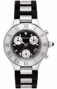Cartier Must 21 Chronoscaph Men's Watch W10125U2