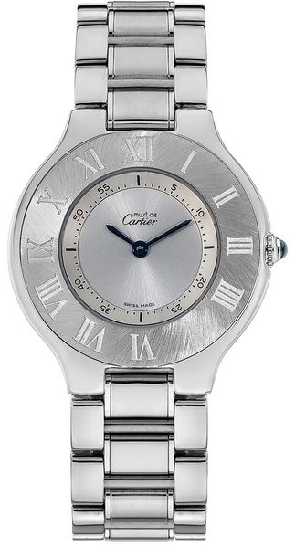 Cartier Must 21 Steel Women's Dress Watch W10110T2