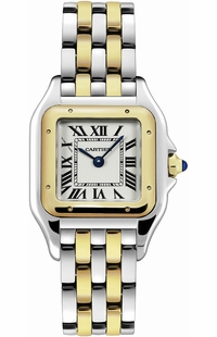 Cartier Panthere de Cartier Gold and Steel Women's Watch W2PN0007