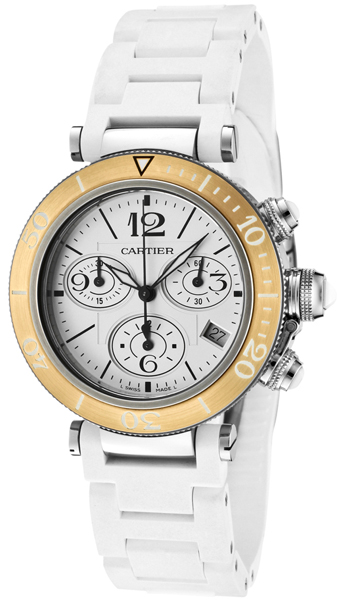 W3140004 Cartier Pasha Seatimer Chronograph Unsiex Watch 45612fa31a
