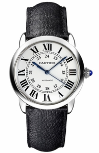 Cartier Ronde Solo 36mm Steel Luxury Watch WSRN0021