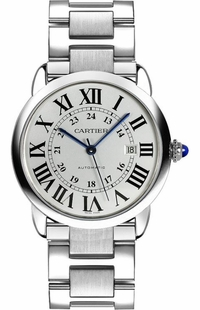 Cartier Ronde Solo 42mm Steel Men's Watch W6701011
