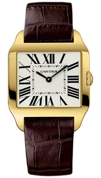 Cartier Santos Dumont 18k Yellow Gold Women's Watch W2009351