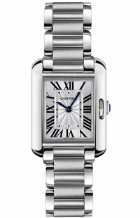 Cartier Tank Anglaise Steel Luxury Women's Watch W5310022