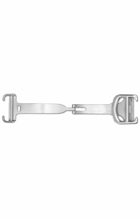 Cartier Tank Francaise 14mm White Gold Women's Watch Buckle