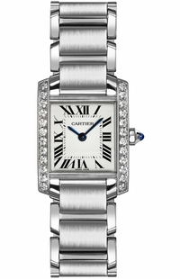 Cartier Tank Francaise Diamond Women's Watch W4TA0008