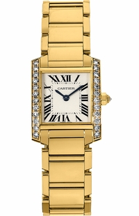 Cartier Tank Francaise Luxury Women's Watch WE1001R8