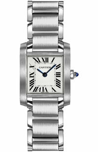 Cartier Tank Francaise Petite Women's Watch W51008Q3