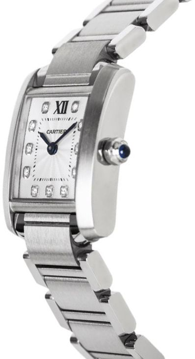 finest selection cc6b3 a0711 WE110006 Cartier Tank Francaise Women's Luxury Watch