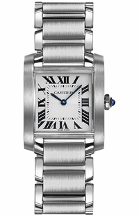 Cartier Tank Francaise Women's Luxury Watch WSTA0005
