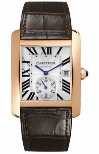 Cartier Tank MC Solid Rose Gold Men's Watch W5330001