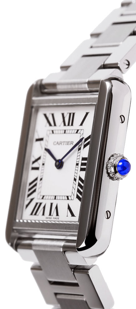 W5200013 Cartier Tank Solo Silver Dial Ladies Quartz Watch