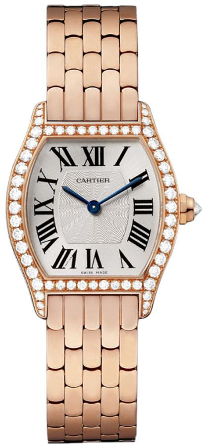Cartier Tortue Women's Watch WA501010 Rose Gold Women's Watches