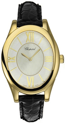 Chopard Classic Yellow Gold Oval Watch 129382-0001