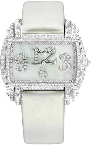 Chopard Classic White Pearl Diamond Watch 139266-1001