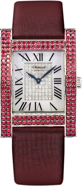 Chopard H Ruby Women's Diamond Watch 173451-1014