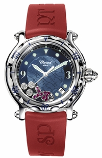Chopard Happy Fish Blue Dial Ladies 288347-3011