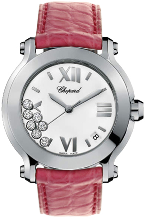 Chopard Happy Sport White Diamond Dial 278475-3001