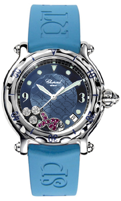 Chopard Happy Fish Floating Diamond Watch 288347-3011