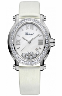 Chopard Happy Sport Diamond Luxury Women's Watch 278546-3002