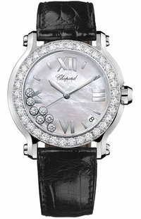 Chopard Happy Sport Round Women's Watch 278476-2002