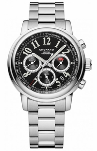 Chopard Mille Miglia Chronograph Black Dial Men's Watch 158511-3002