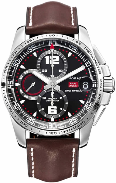 Chopard Mille Miglia Black Dial Men's Chronograph 168459-3001