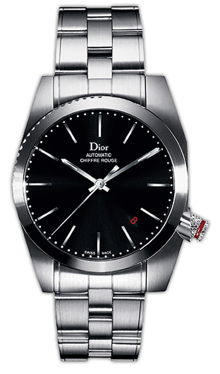 Cd084510m001 Christian Dior Chiffre Rouge Black Dial Watch