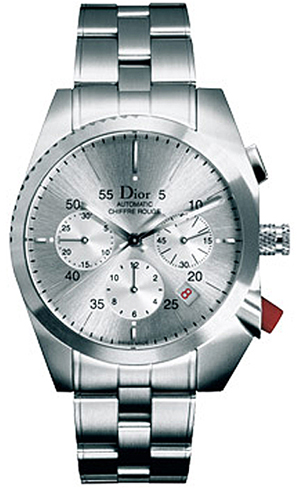 Cd084611m001 Christian Dior Chiffre Rouge Gray Chronograph Dial 38mm Watch
