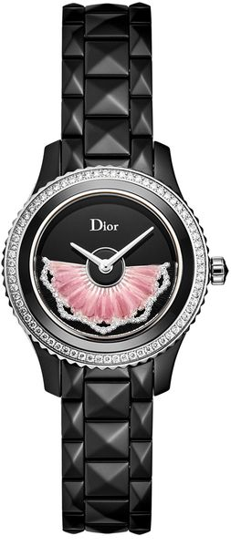 Christian Dior VIII Pink Feathers Women's Watch CD123BE0C003