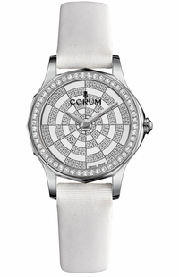 Corum Admiral Legend 32 Diamonds Women's Watch 020.101.47/0009 PK11