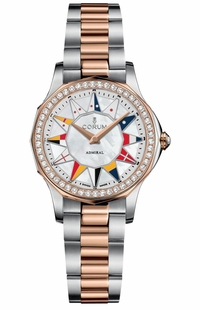 Corum Admiral Legend 32 Two Tone Women's Watch 400.100.29/V200 BL12