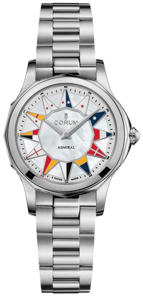 Corum Admiral Legend 32 Women's Watch 400.100.20/V200 BL12