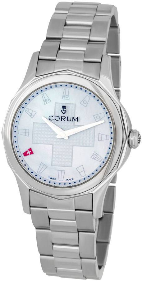 Corum Admiral Legend 32 White Dial Women's Watch 400.101.20/V200 PN01