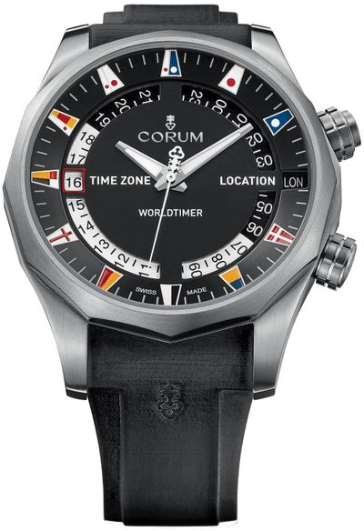 Corum Admiral Legend 47 Worldtimer Men's Watch 637.101.04/F371 AN02