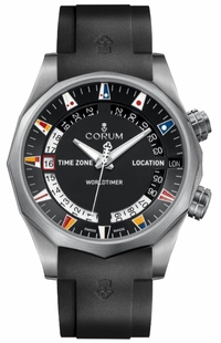 Corum Admiral Legend 47 Black Dial Men's Watch 637.101.04/F371 AN03