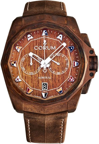 Corum Admiral's Cup Chronograph Men's Watch 116.200.53/0F62 AW01