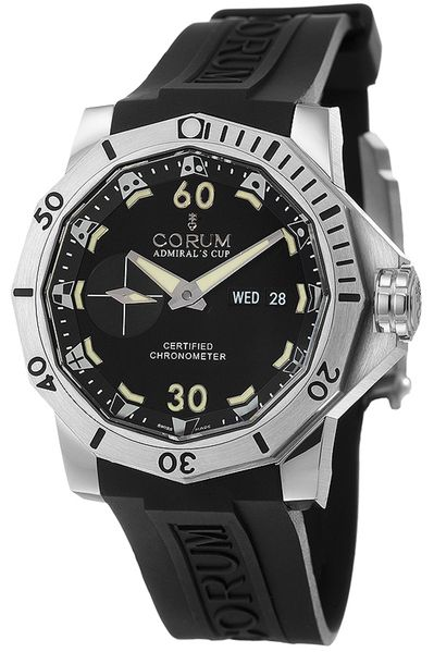 Corum Admiral's Cup Black Dial Men's Watch 947.401.04/0371 AN12