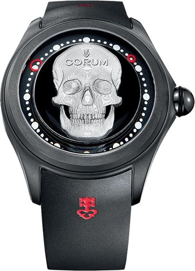 Corum Big Bubble Magical 52 3D Skull Men's Watch 390.101.95/0371 SK01