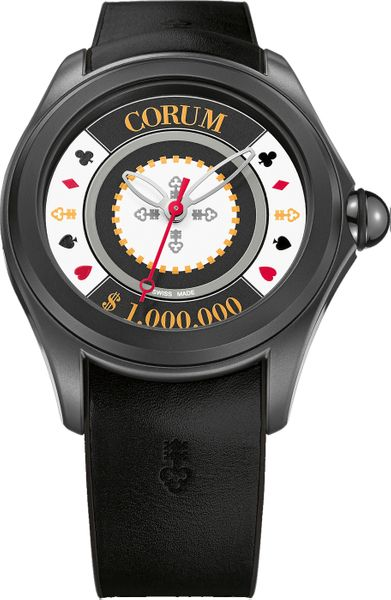 Corum Bubble 47 Casino Chip Game Men's Watch 082.310.98/0371 CH01