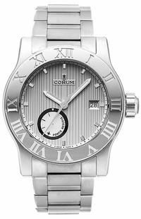 Corum Romvlvs Guilloche Grey Dial Men's Dress Watch 373.515.20/V810 BA65