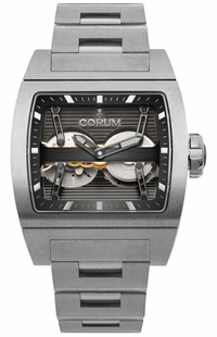 Corum Ti-Bridge Dual Winder Titanium Men's Watch 207.201.04/V250 0000