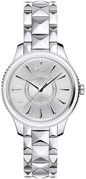 Christian Dior VIII Montaigne Silver Dial Women's Watch CD152110M011