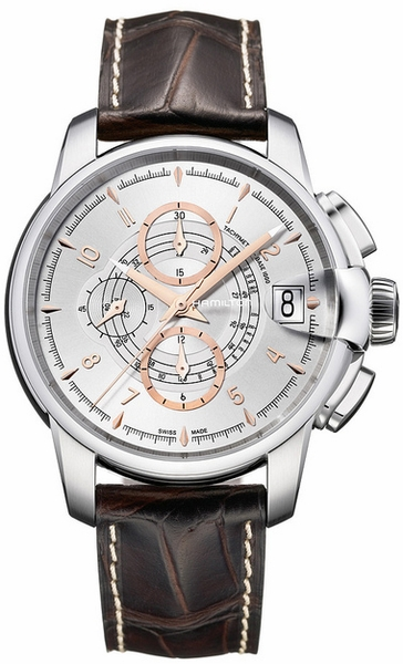Hamilton Timeless Classic Railroad Chrono H40616555