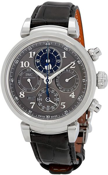IWC Da Vinci Perpetual Calendar Chronograph 43MM Men's Watch IW392103