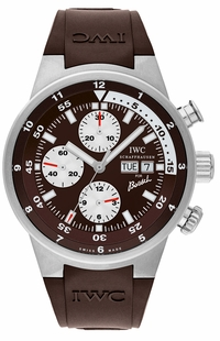 IWC Aquatimer Chronograph Steel Men's Diving Watch IW378204