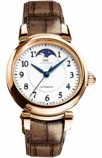 IWC Da Vinci Automatic Moon Phase 36 Rose Gold Women's Watch IW459308